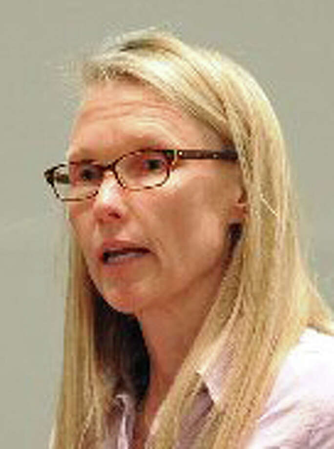 Dawn Llewellyn, a school, activist, and her husband have sent more than 4,000 emails to school officials. File photo, April 2013. Photo: File Photo / Fairfield Citizen