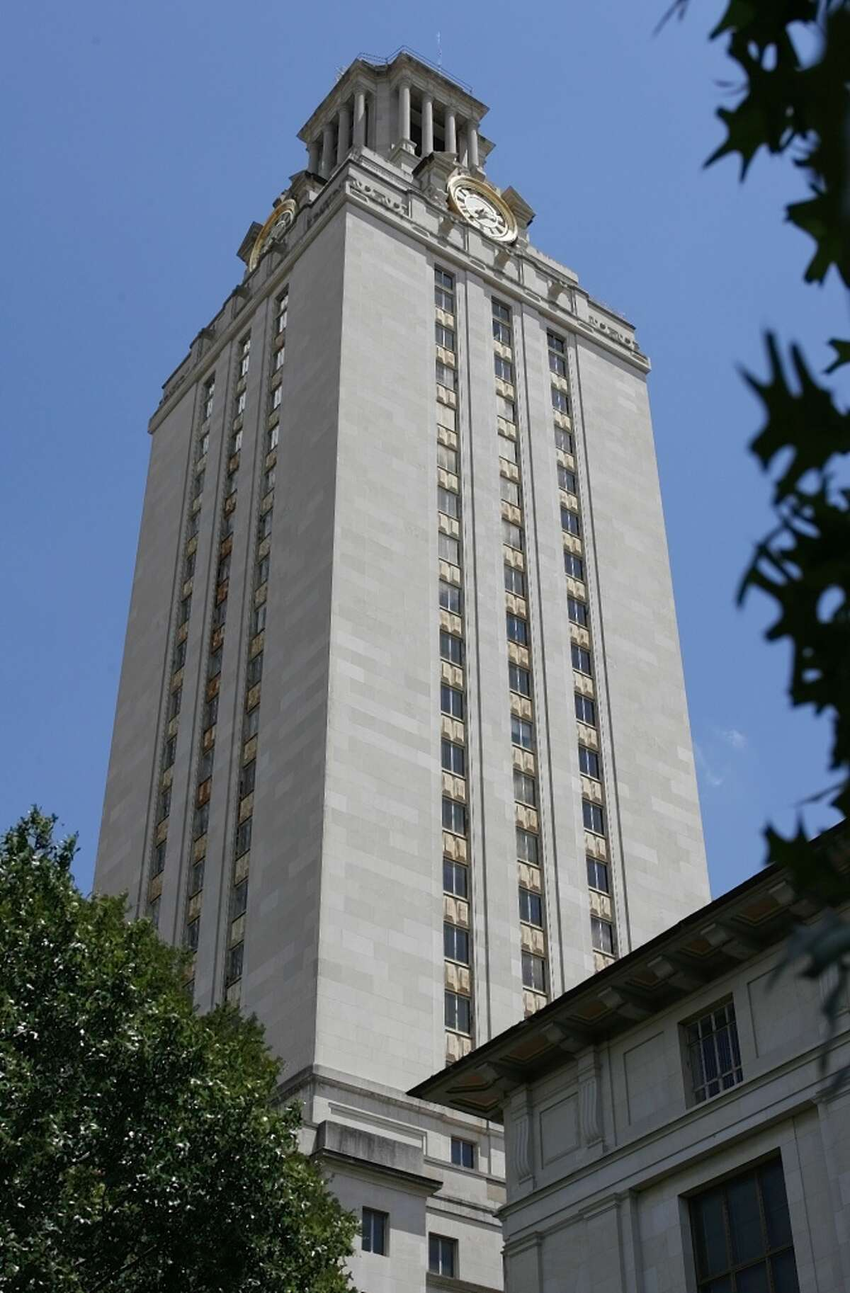 The University of Texas Tower. Charles Whitman fired shots from the observation deck of the tower Aug. 1, 1966.