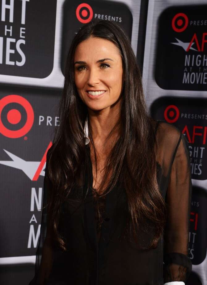 Demi Moore in 2013 Photo: Michael Kovac, WireImage