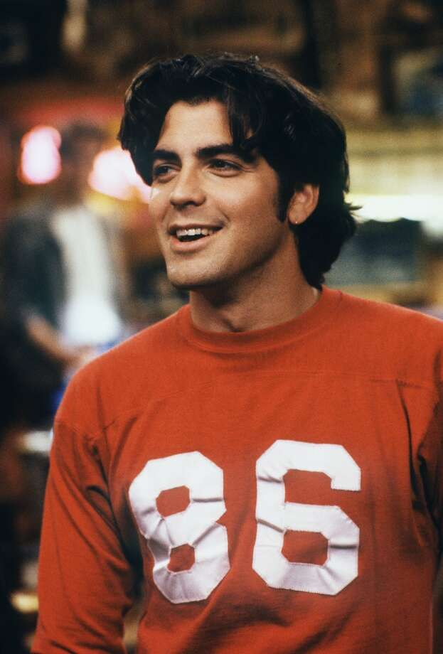 George Clooney on 'Roseanne' in 1989. Photo: ABC Photo Archives, ABC Via Getty Images