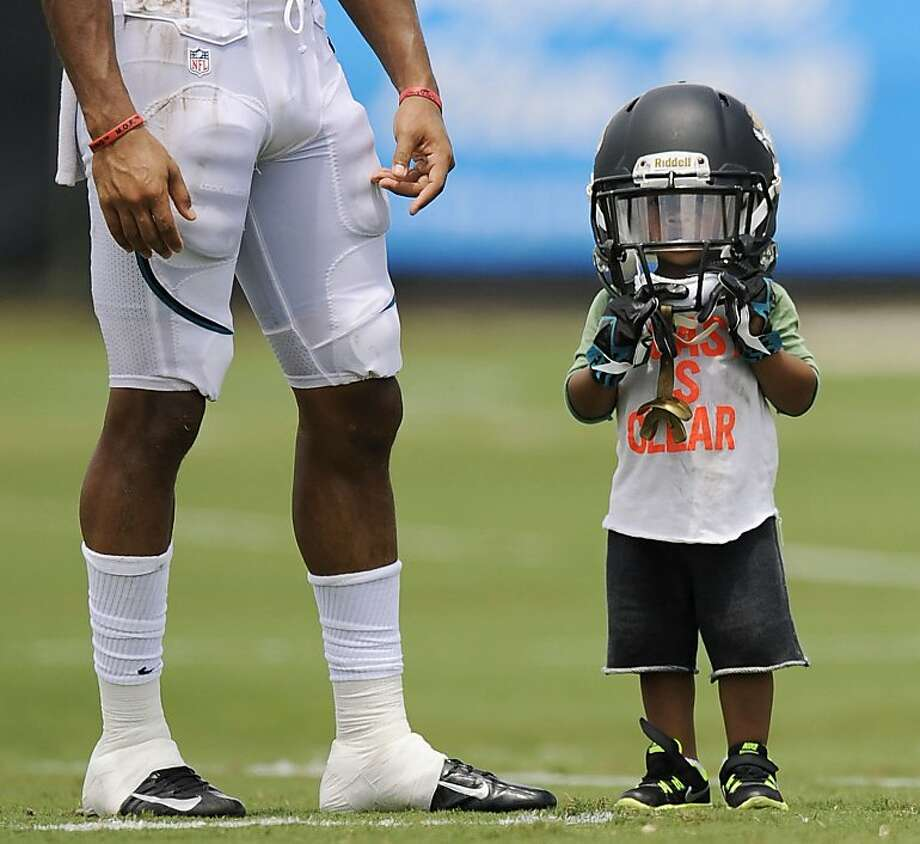 The Jacksonville Jaguars' youth movement is going just as planned: Two-year-old Cecil IV, 