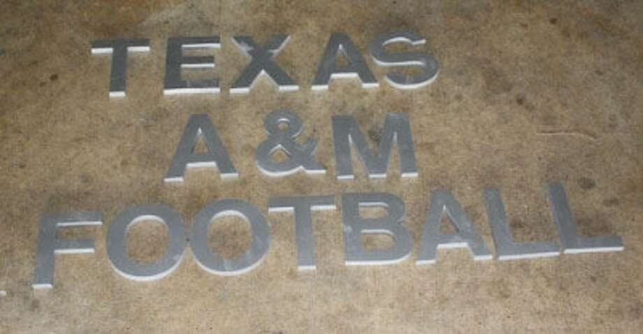 "Authentic Metal ""Texas A&M Football"" Letters from the Bright Complex (aggieathletics.com)"