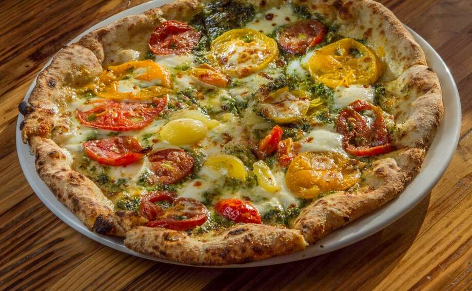 The Heirloom Tomato Pizza at Forge 66 in Oakland, Calif., is seen on Wednesday, July 25th, 2013. Photo: Special To The Chronicle