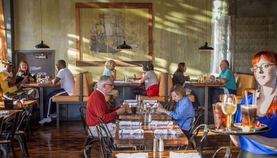 Diners enjoy dinner at Forge 66 in Oakland, Calif., on Wednesday, July 25th, 2013. Photo: Special To The Chronicle