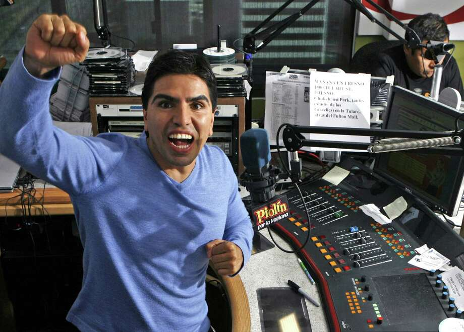 "Eddie ""Piolin"" Sotelo's radio voice has been silenced in the wake of sex harassment allegations. Photo: Damian Dovarganes, Associated Press"