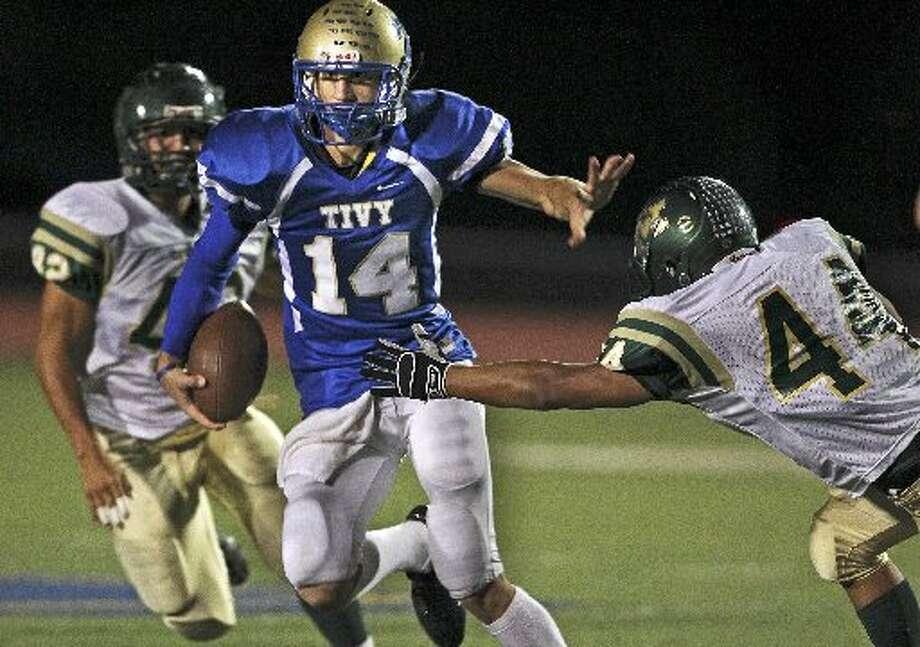 Kerrville Tivy WR Tyler Ahrens: Kansas State Photo: E-N