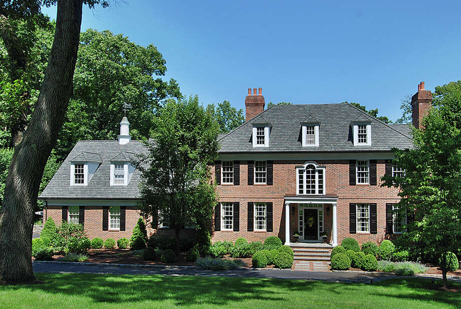 The house at 1599 Fence Row Drive is on the market for $2,080,000. Photo: Contributed Photo / Fairfield Citizen contributed