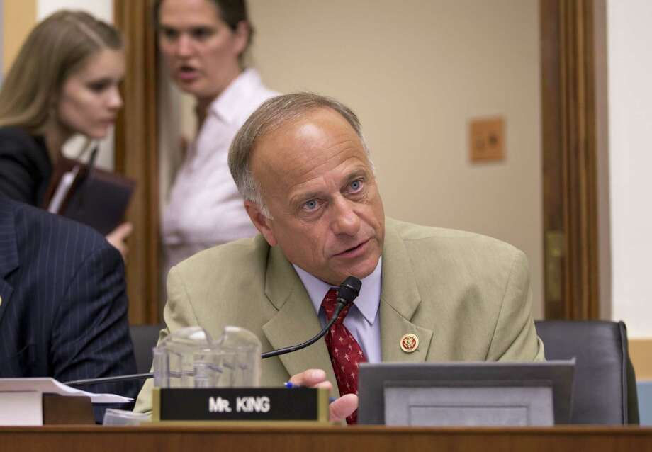 Rep. Steve King, R-Iowa, earned criticism from the White House and Republican leaders for his nasty, impolitic comments about immigration. Photo: J. Scott Applewhite, Associated Press