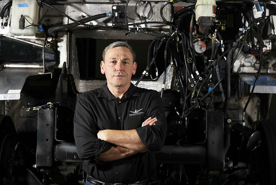 Wrightspeed CEO Ian Wright has scaled up electric-car technology. Photo: Rohan Smith, The Chronicle