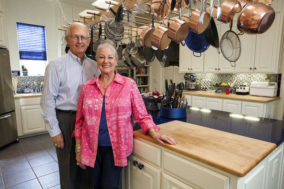 The travels and many moves of Sara Hamilton and her husband, Tom, helped her design her Kerrville kitchen.