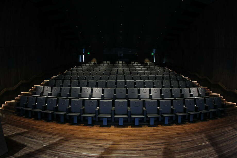 Here's the other auditorium. It is two stories tall and can seat 170 audience members.  Photo: Eric Evans, GoDucks.com