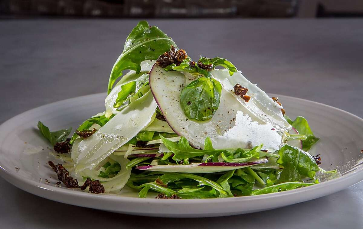 The Kohlrabi Salad at A16 restaurant in Oakland, Calif., is seen on Wednesday, July 25th, 2013.