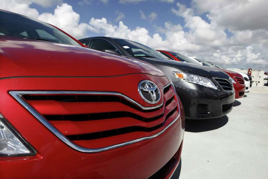 Toyota Motor Corp. reported an increase of 17 percent in its new car and truck sales during July. Photo: Associated Press / File Photo