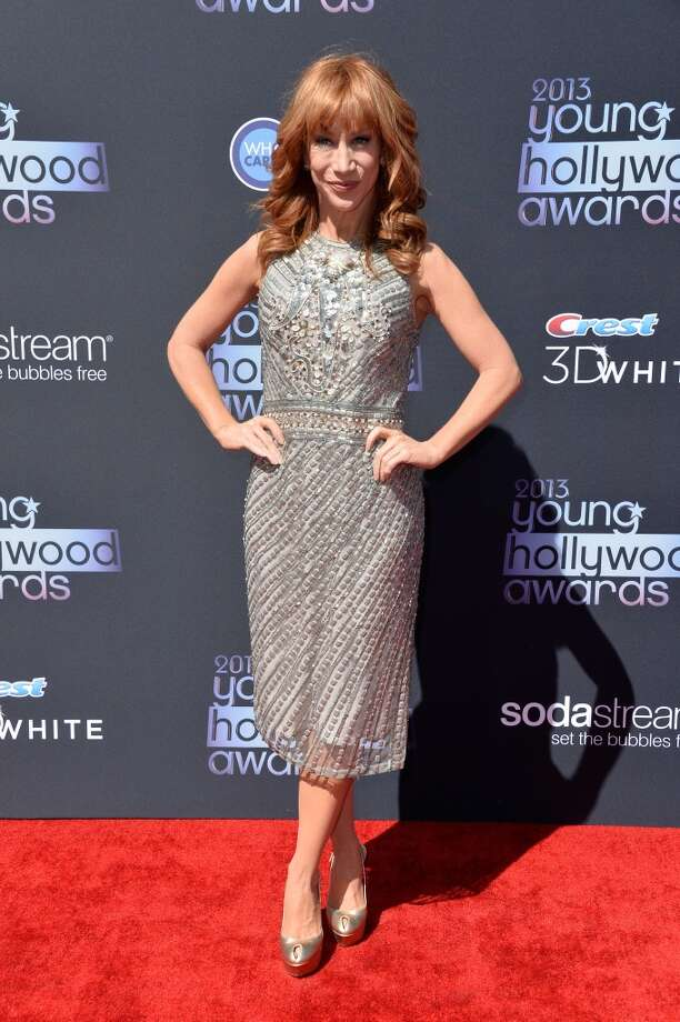 Comedian Kathy Griffin attends CW Network's 2013 Young Hollywood Awards presented by Crest 3D White and SodaStream held at The Broad Stage on August 1, 2013 in Santa Monica, California.  (Photo by Frazer Harrison/Getty Images) Photo: Frazer Harrison, Getty Images