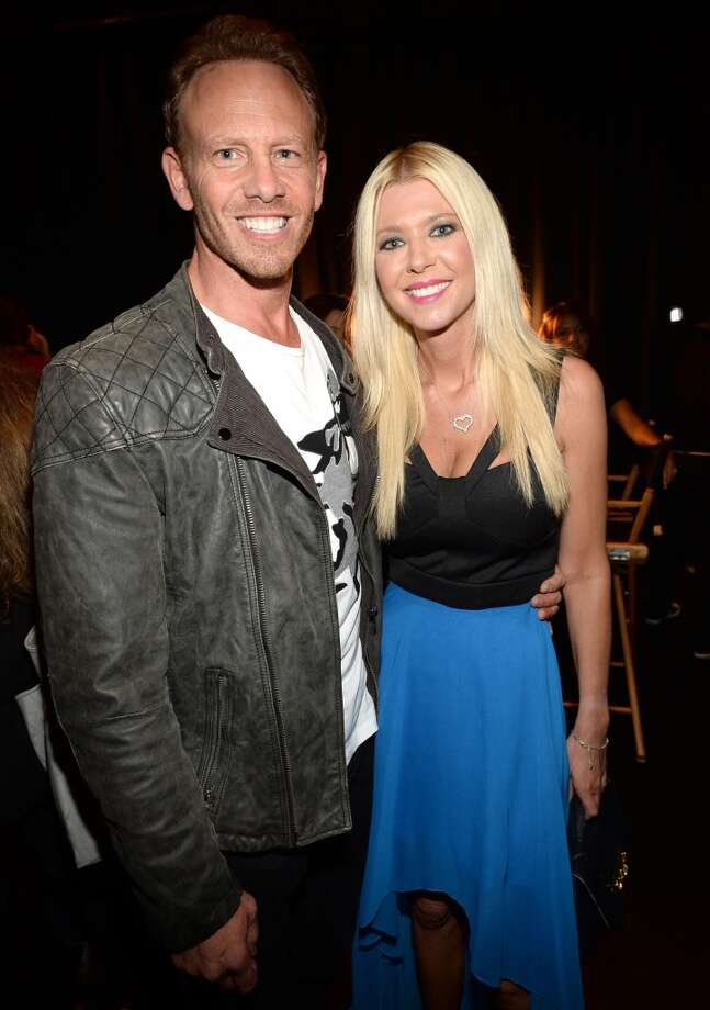 Actors Ian Ziering (L) and Tara Reid attend CW Network's 2013 Young Hollywood Awards presented by Crest 3D White and SodaStream held at The Broad Stage on August 1, 2013 in Santa Monica, California.  (Photo by Michael Buckner/Getty Images for PMC) Photo: Michael Buckner