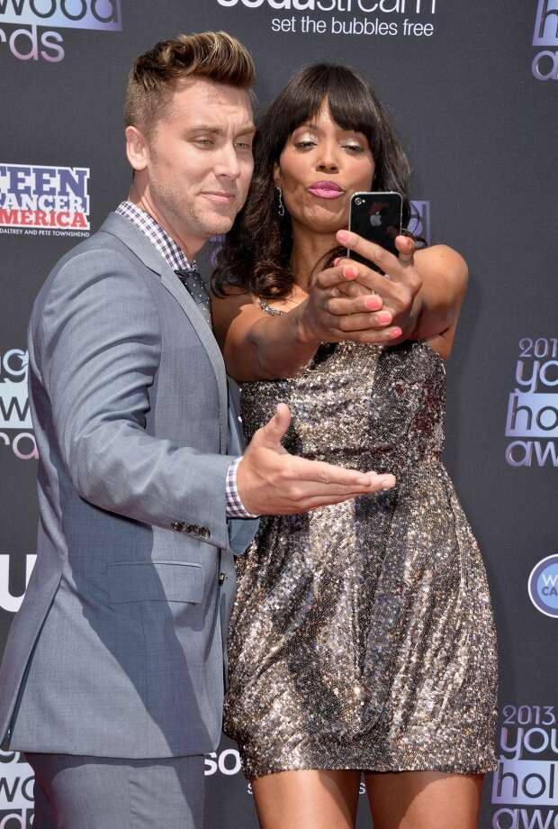 Recording Artist Lance Bass (L) and actress Aisha Tyler attend CW Network's 2013 Young Hollywood Awards presented by Crest 3D White and SodaStream held at The Broad Stage on August 1, 2013 in Santa Monica, California.  (Photo by Frazer Harrison/Getty Images) Photo: Frazer Harrison, Getty Images