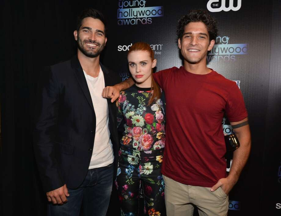 (L-R) Actors Tyler Hoechlin, Holland Roden, and Tyler Posey attend CW Network's 2013 Young Hollywood Awards presented by Crest 3D White and SodaStream held at The Broad Stage on August 1, 2013 in Santa Monica, California.  (Photo by Alberto E. Rodriguez/Getty Images for PMC) Photo: Alberto E. Rodriguez