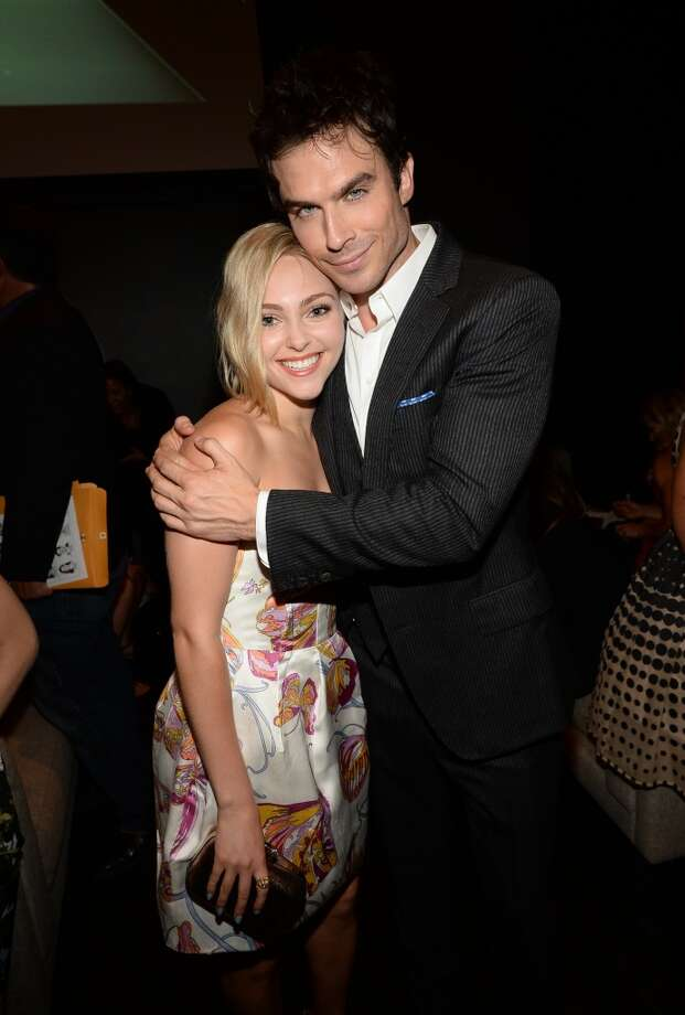 Actors AnnaSophia Robb (L) and Ian Somerhalder attend CW Network's 2013 Young Hollywood Awards presented by Crest 3D White and SodaStream held at The Broad Stage on August 1, 2013 in Santa Monica, California.  (Photo by Michael Buckner/Getty Images for PMC) Photo: Michael Buckner