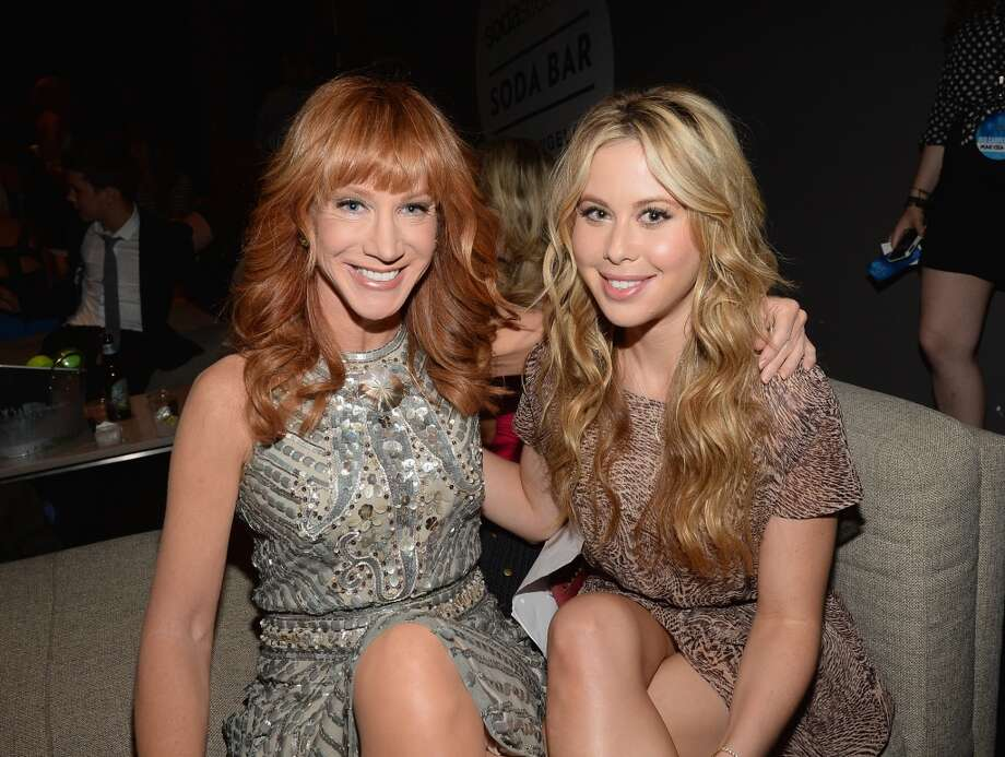 TV personality Kathy Griffin (L) and actress and figure skater Tara Lipinski attend CW Network's 2013 2013 Young Hollywood Awards presented by Crest 3D White and SodaStream held at The Broad Stage on August 1, 2013 in Santa Monica, California.  Photo: Michael Buckner
