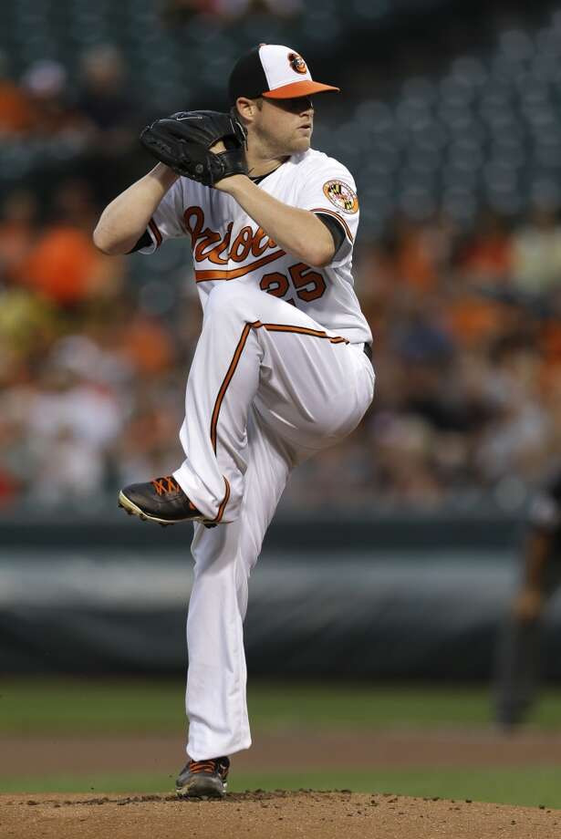 Aug. 1: Orioles 6, Astros 3 Bud Norris won his first game in Baltimore against his old team.  Record: 36-71. Photo: Patrick Semansky, Associated Press
