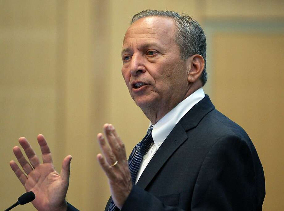 Lawrence Summers advises banking giant Citigroup and startups. Photo: Boston Globe, Boston Globe Via Getty Images