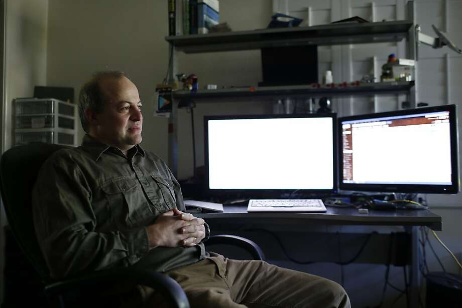 Yahel Ben-David is working with UC Berkeley researchers to help activists avoid snooping by foreign governments. Photo: Ian C. Bates, The Chronicle