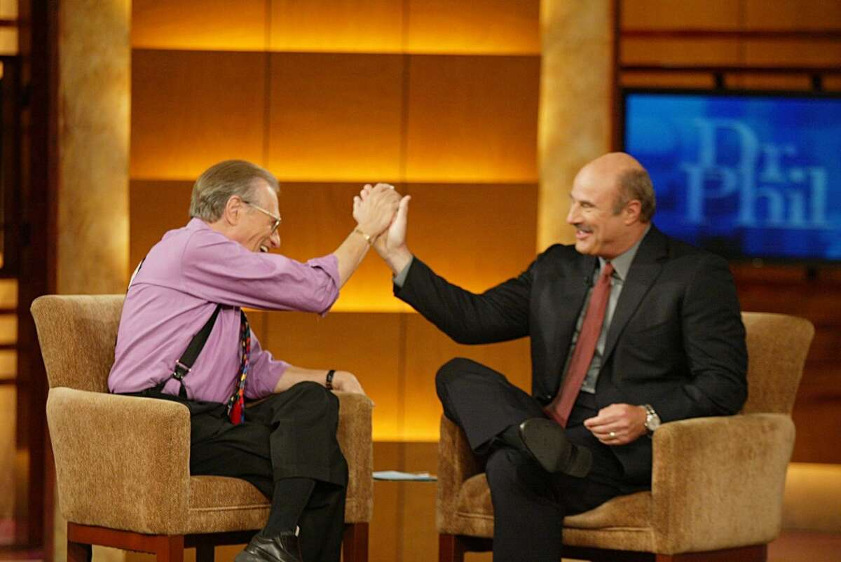 Larry King and Dr. Phil McGraw