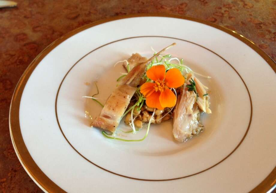 Rabbit three ways at The Palace on Mission