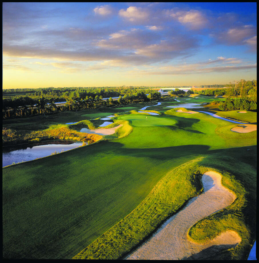 The Dye Course at Barefoot Landing in Myrtle Beach. (via VisitMyrtleBeach.com)