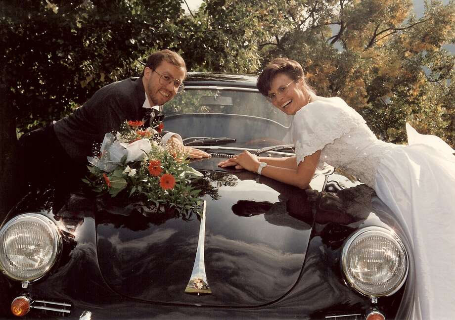 Peter Burger rented a 356 to drive his newlywed wife and himself to their wedding reception in their native Germany.
