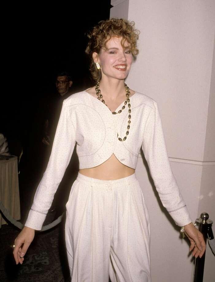 Geena Davis in 1989 Photo: Ron Galella, WireImage