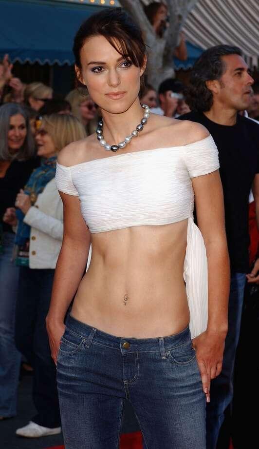 Keira Knightley in 2003 Photo: Amanda Edwards, Getty Images