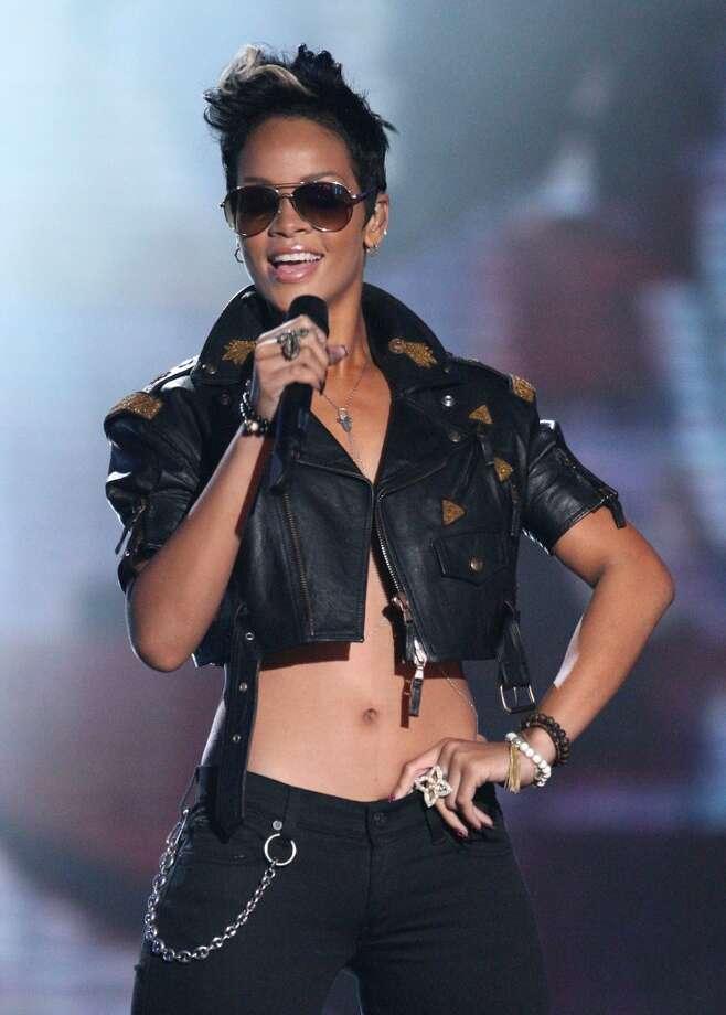 Rihanna in 2008 Photo: Jason Merritt, FilmMagic