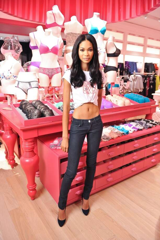 Chanel Iman in 2010 Photo: George Pimentel, WireImage