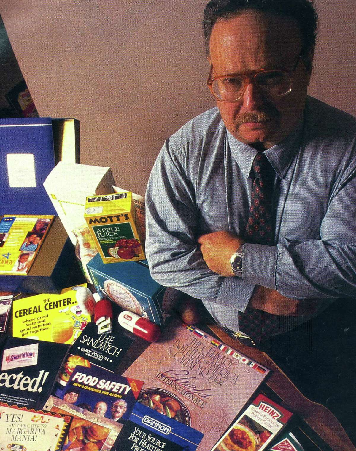 A photo of Don Axleroad as it appeared in Nation's Restaurant News in 1995.