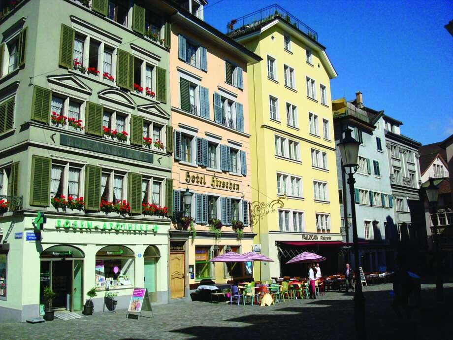 Restaurants in the historic district of Zurich offer a great variety of international fare. Photo: Sandy Rao, For The Express-News
