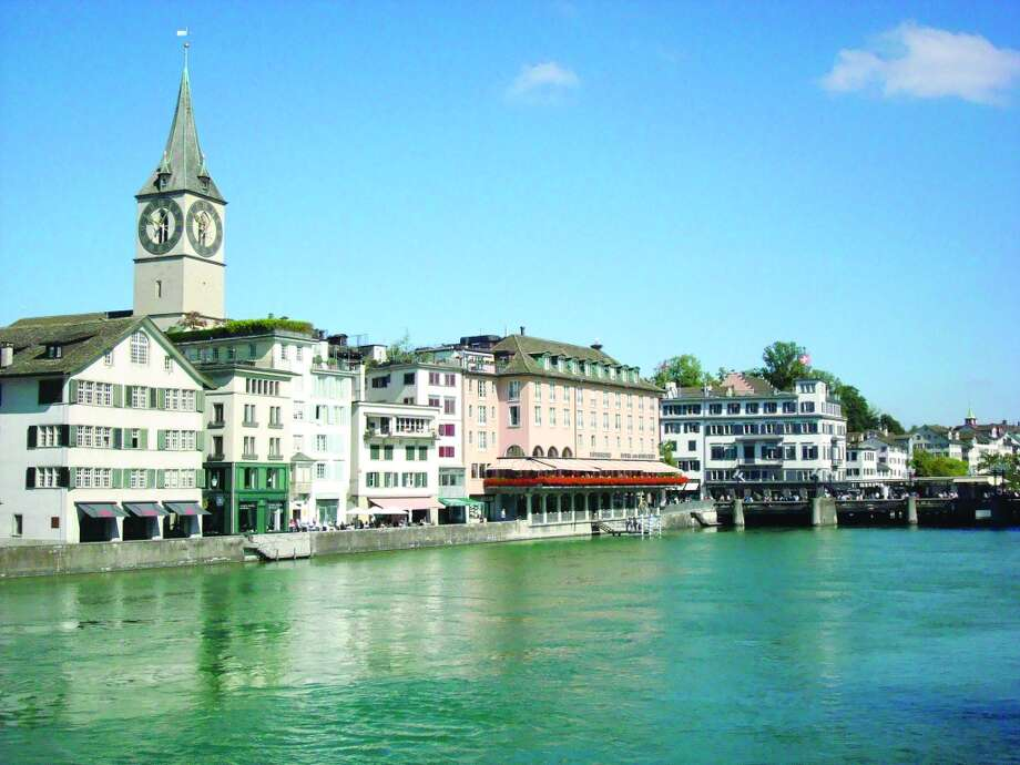 Zurich's picturesque historic district includes restaurants and other businesses that attract visitors and locals alike. Photo: Sandy Rao, For The Express-News