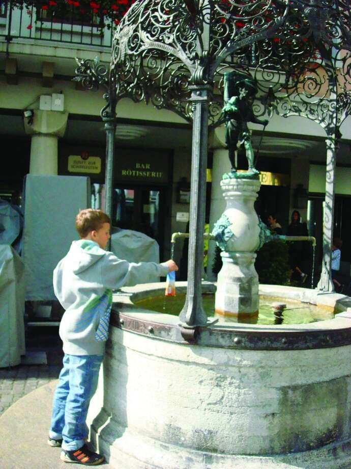 About 1,200 drinking water fountains of various levels of artistry are located throughout Zurich to quench the thirst of residents and tourists. Photo: Sandy Rao, For The Express-News