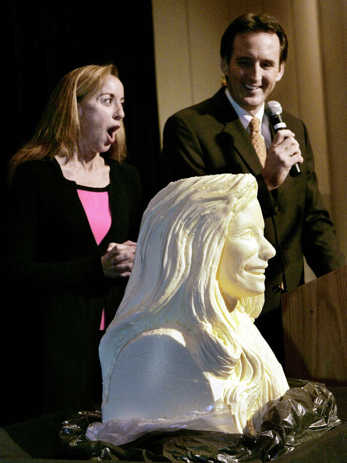 2007: Butter Hillary Clinton Photo: Jim Mone, ASSOCIATED PRESS / AP2007