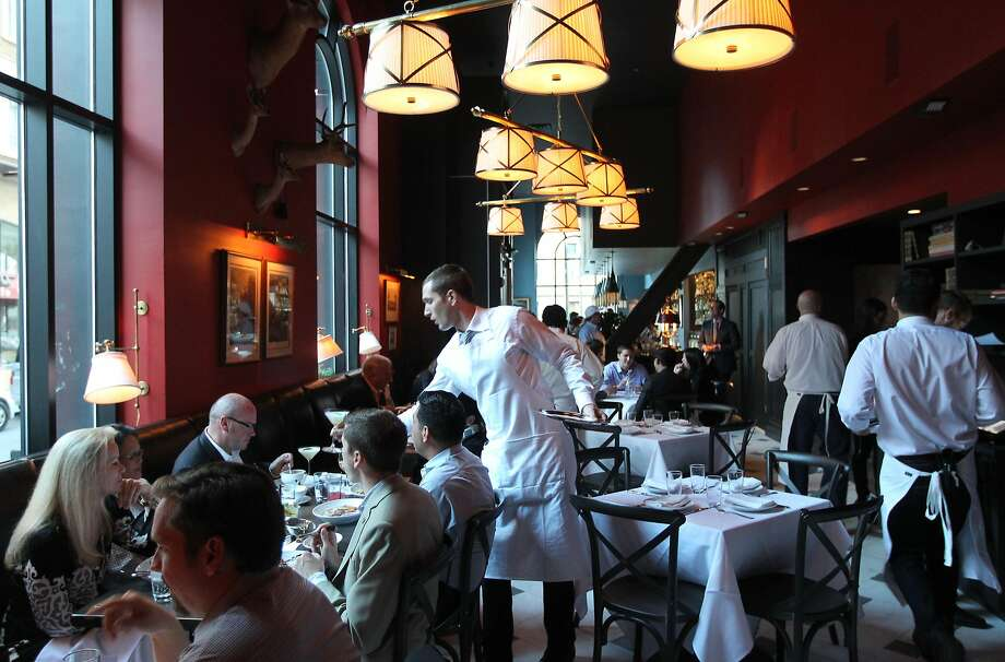The highly anticipated Cavalier restaurant is now open, on Jessie Street at 5th, offering a verity of dinner items with a full bar, Wednesday, July 31, 2013, in San Francisco Calif. Photo: Lance Iversen, The Chronicle
