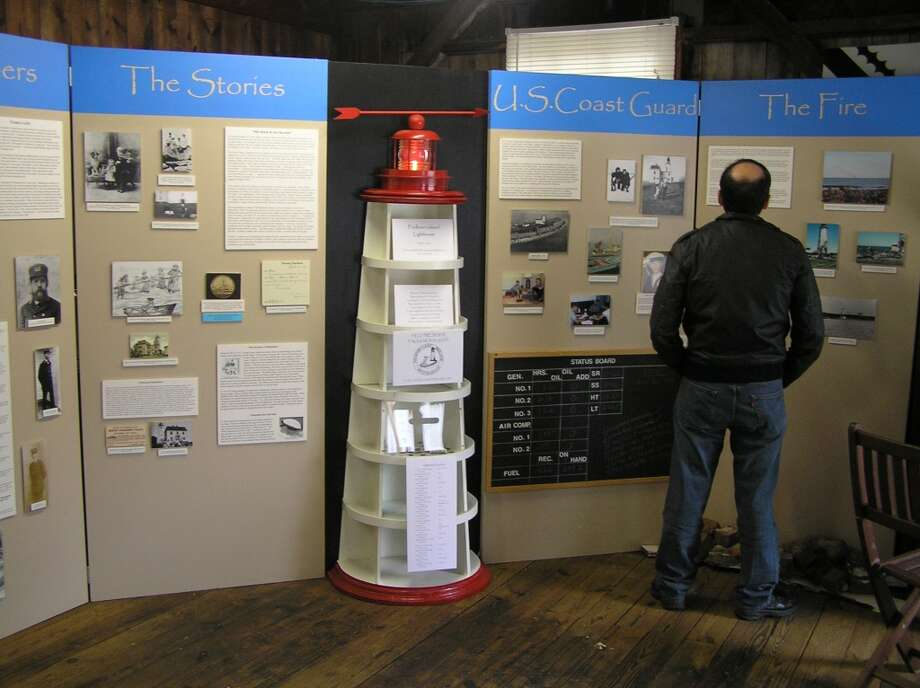 "Throughout August 2013, the Henry Whitfield State Museum will present an exhibition on the Faulkner's Island Lighthouse off Guilford, Conn. On Saturday, Aug. 3, a ""Finders & Keepers: Lighthouse Fun for Kids"" program is scheduled. Photo: Contributed Photo"