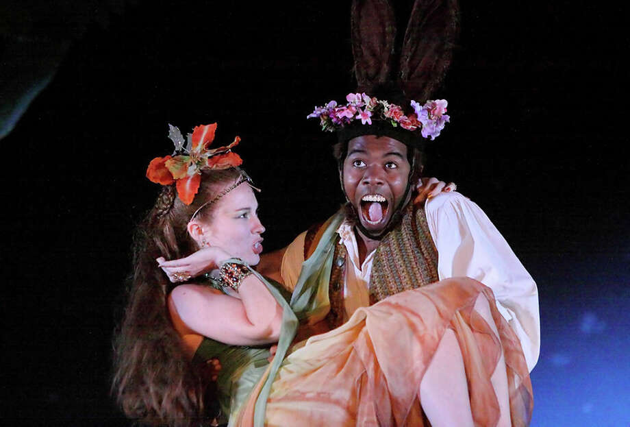 "Connecticut Free Shakespeare is presenting ""A Midsummer Night's Dream"" in two locations - on the grounds of the American Shakespeare Festival Theater in Stratford, Conn., through Aug. 4, 2013, and on McLevy Green in downtown Bridgeport, Conn., Aug. 7 to 11, 2013. Photo: Contributed Photo / Connecticut Post Contributed"