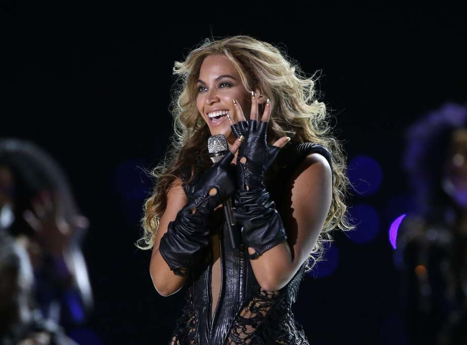 In this Feb. 3, 2013 file photo, Beyonce performs during the Pepsi Super Bowl XLVII Halftime Show. She is performing at Mohegan Sun on Friday, Aug. 2, 2013. (AP Photo/Mark Humphrey) Photo: Mark Humphrey, Associated Press