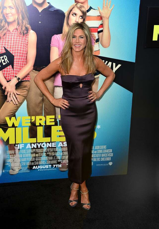 Jennifer Aniston attends the 'We're The Millers' New York Premiere at Ziegfeld Theater on August 1, 2013 in New York City. Photo: James Devaney, WireImage