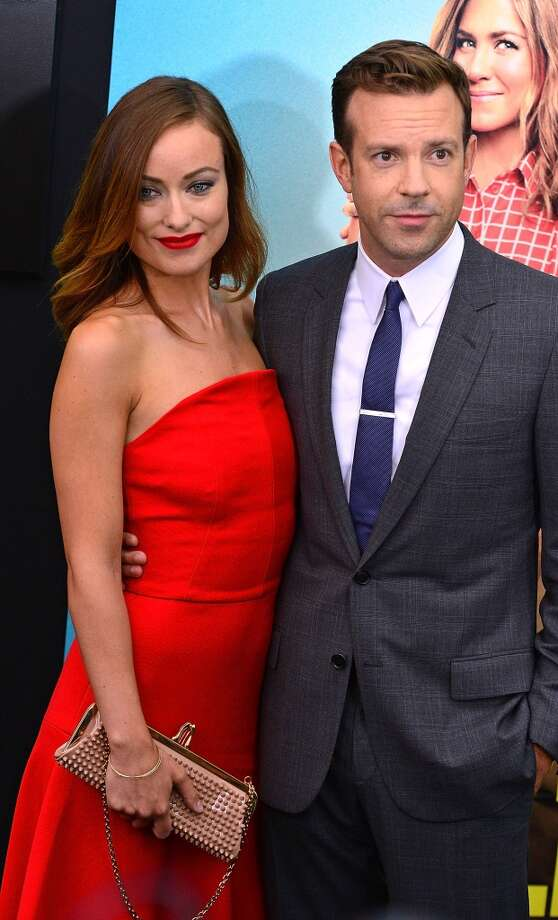 Olivia Wilde and Jason Sudeikis attend the 'We're The Millers' New York Premiere at Ziegfeld Theater on August 1, 2013 in New York City. Photo: James Devaney, WireImage