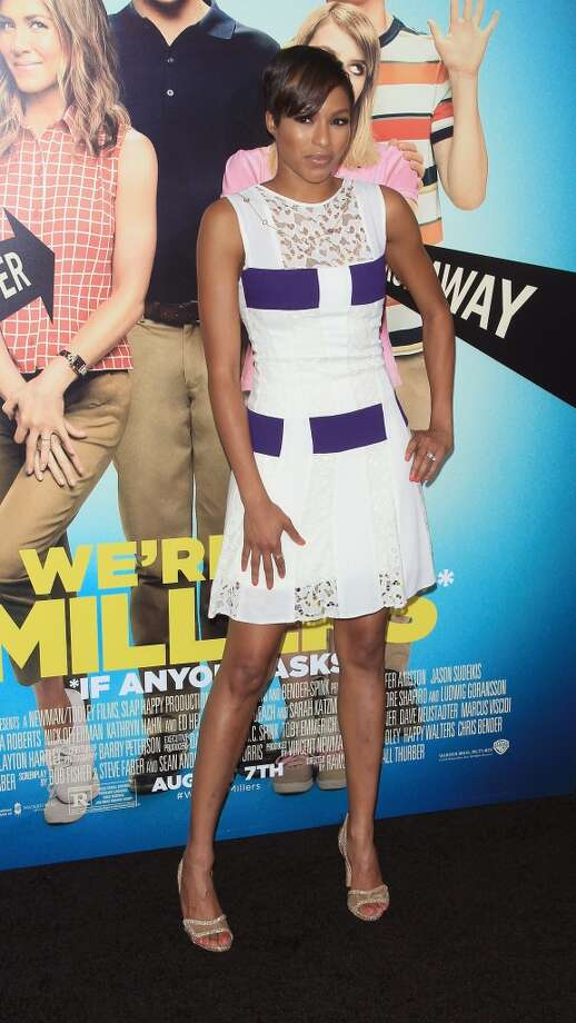 "TV Personality Alicia Quarles attends the ""We're The Millers"" New York Premiere at Ziegfeld Theater on August 1, 2013 in New York City. Photo: Jim Spellman, WireImage"