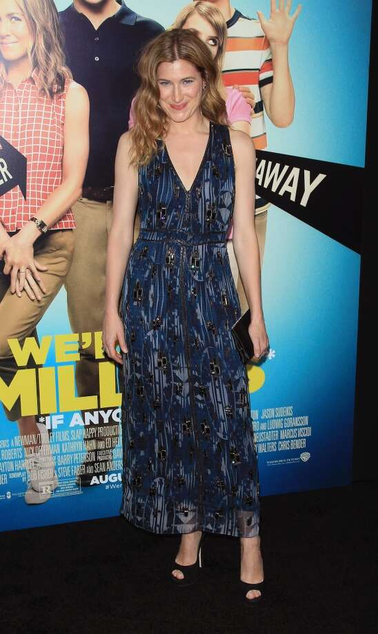 "Actress Kathryn Hahn attends the ""We're The Millers"" New York Premiere at Ziegfeld Theater on August 1, 2013 in New York City. Photo: Jim Spellman, WireImage"