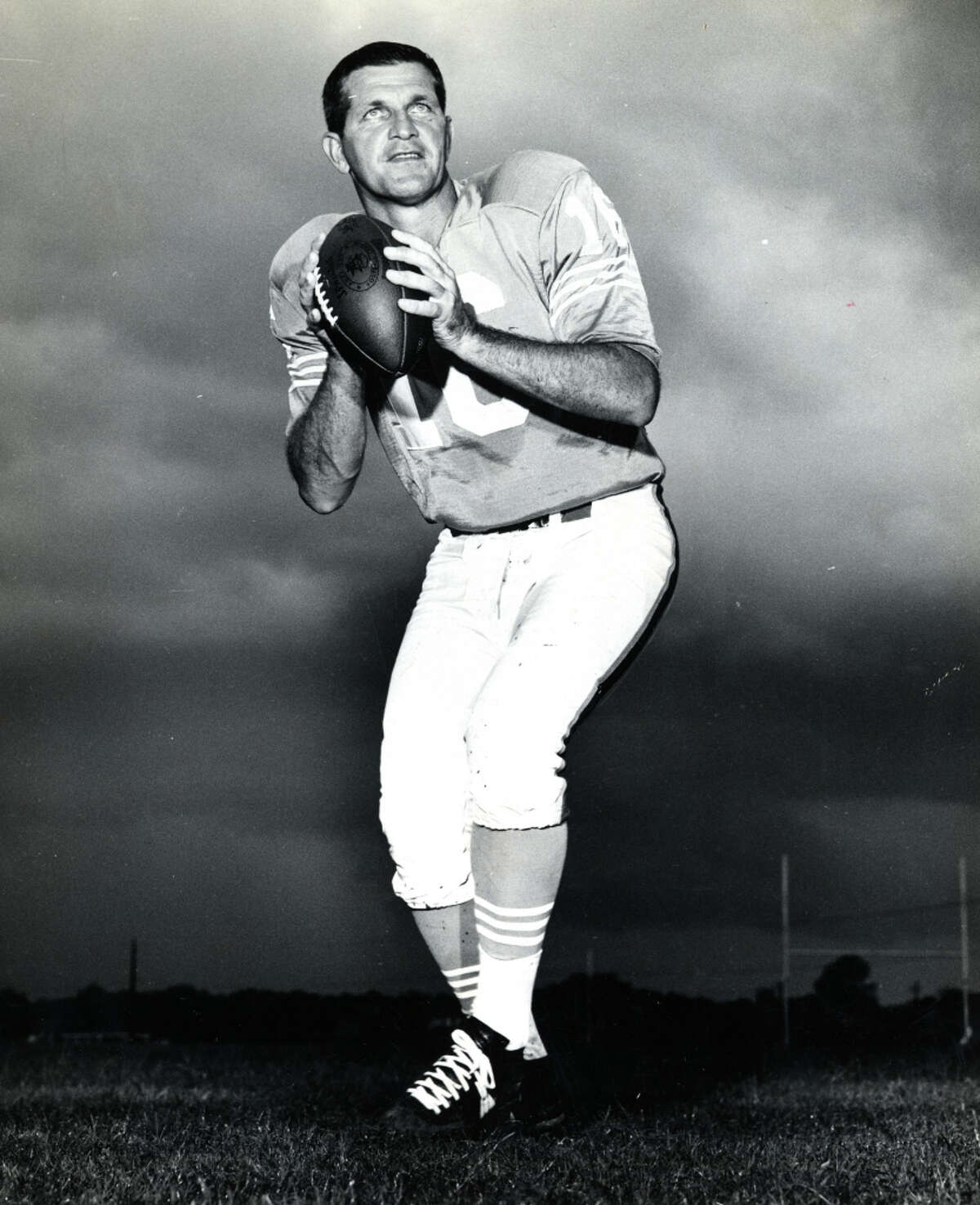 GEORGE BLANDA: SINGLE-GAME TD PASSES The Oilers quarterback tied the record for touchdown passes in a game with seven against the New York Titans on Nov. 19, 1961.