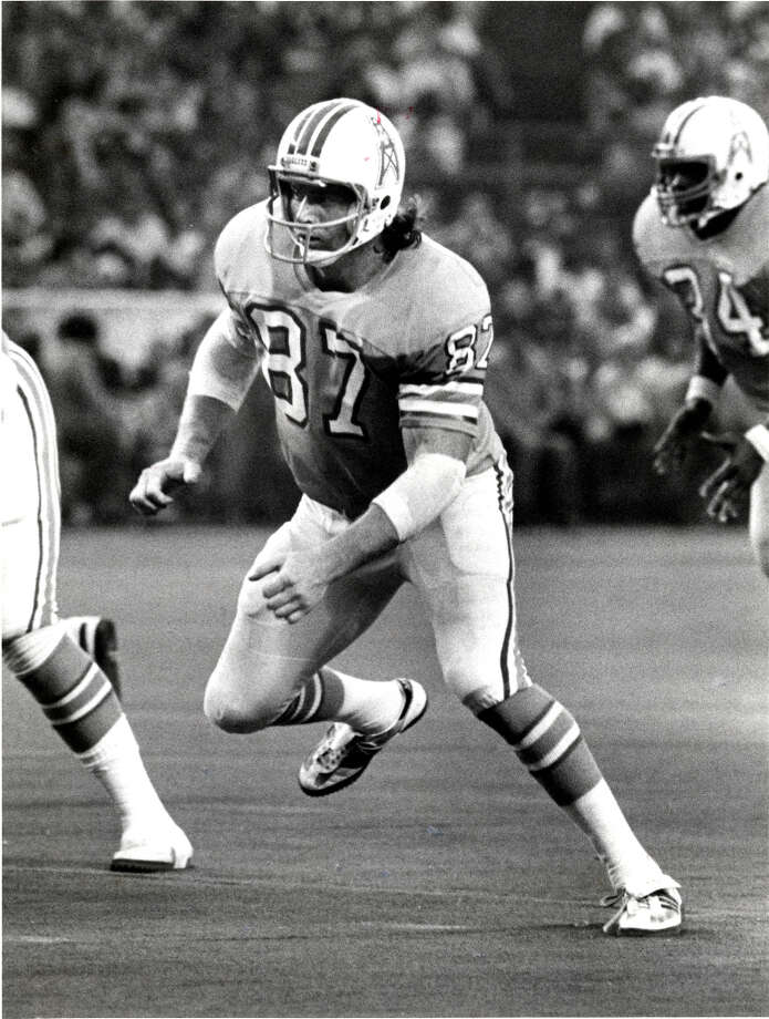 Dave CasperTight endTime with the Oilers: 1980-1983Year of HOF induction: 2002  The offensive lineman and tight end was a member of the NFL's 1970s All-Decade team.  Photo: Chronicle File Photo