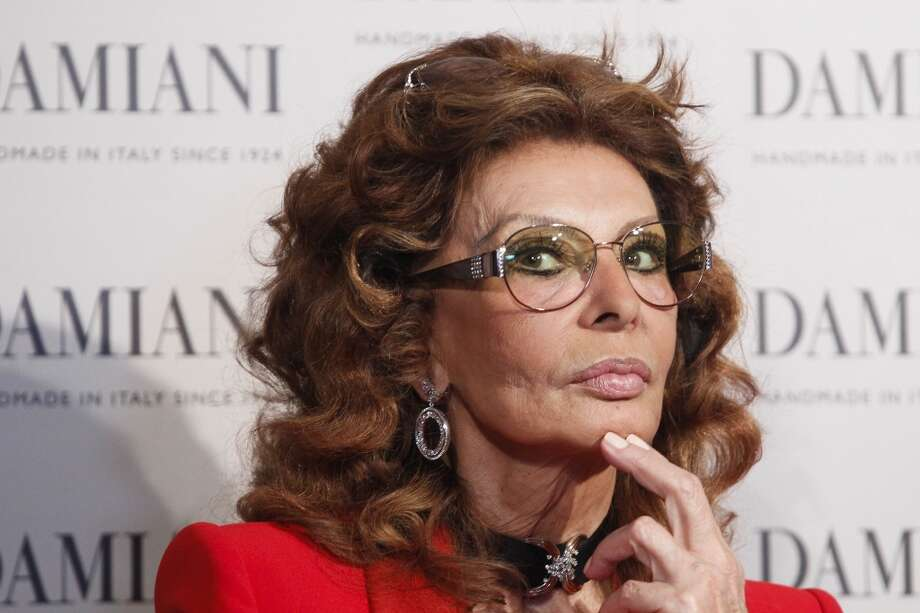 Sophia Loren more recently at a  Damiani jewelry promotional event at Peninsula Hotel on April 18, 2013 in Shanghai, China. Her ageless quality is frequently remarked on by patients of Dr. Miranda. Photo: ChinaFotoPress, ChinaFotoPress Via Getty Images